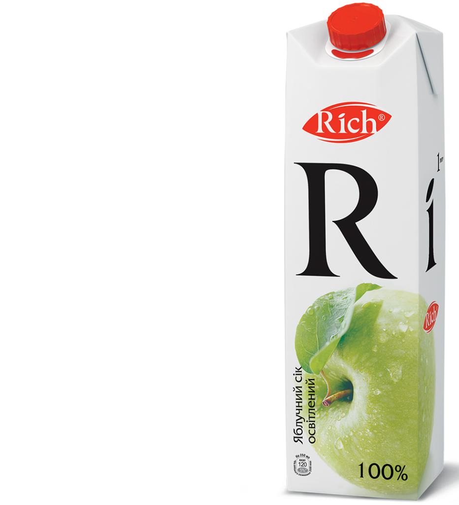 Rich Яблоко 1 л